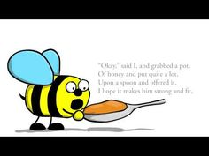 """Children's poems in English """"Eric the weary bee"""" (read by the author) - YouTube"""