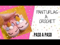 Crochet Booties Pattern, Crochet Shoes, Crochet Slippers, Crochet Patterns, Crochet For Kids, Crochet Baby, Knit Crochet, Baby Booties, Baby Shoes