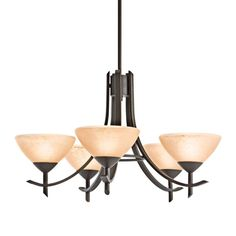 Shop Kichler Lighting  10776 5 Light Olympia Fluorescent Chandelier  at ATG Stores. Browse our chandeliers, all with free shipping and best price guaranteed.