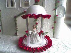 muneca centro de mesa | Sarita Sourvenirs: centro de mesa - muñeca