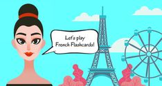 Articulate's eLearning Heroes Challenge is Using Flashcard Interactions in E-Learning. I decided to create a short French language lesson using flashcards. French Flashcards, French Language Lessons, Instructional Design, Presentation, Challenges, Let It Be, Play, Learning, Studying