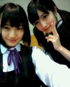 乃木坂46 (nogizaka46) Nakada Kana (中田 花奈) Kashiwa Yukina (柏 幸奈) ~ they both are my no 1 and 2 look ranking ~ why they both so cute ♥ ♥ ♥ ♥ ♥ ♥ (o^^)//