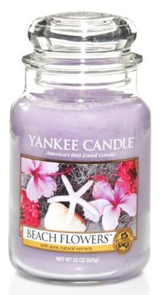 Yankee Candle Beach Flowers 22-Ounce Jar Candle, Large - http://candles.pinterestbuys.com/yankee/yankee-candle-beach-flowers-22-ounce-jar-candle-large/