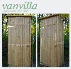 Cool vanvilla Ger teschuppen Holz Flachdach Braun lasiert Ger tehaus Gartenschrank Amazon de Garten