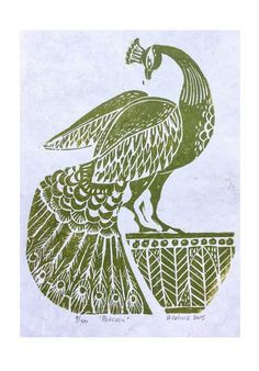 Image result for crow linocut graphic