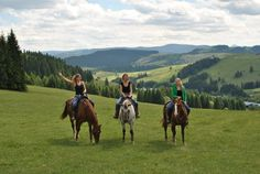 trail riding in North Slovakia