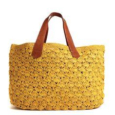 Valencia Crocheted Carryall by Mar y Sol. *swoon*