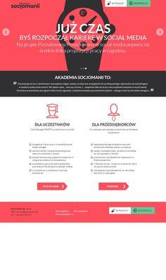 New socjomania website.