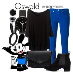 """""""Oswald"""" by leslieakay ❤ liked on Polyvore featuring I Love Ugly, Polo Ralph Lauren, BERRICLE, women's clothing, women, female, woman, misses, juniors and disney"""