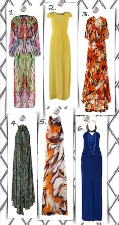My maxi dress picks - which one is your favorite?