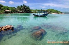 Nha Trang Beach: Being well known for its pristine beaches, scuba diving and snorkeling, Nha Trang is one of the most popular beach destinations in Vietnam