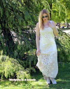 Mariposas en el armario: Vestido crochet, mi nuevo favorito ; )