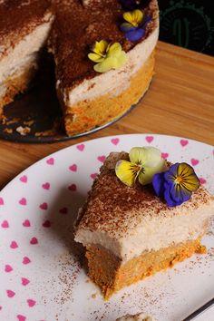Carrot cake - Tort de morcovi fără zahăr și făină! - DolceFarVerde