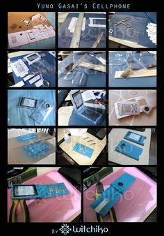 Yuno Gasai's Cellphone::::::::: by Witchiko.deviantart.com on @deviantART