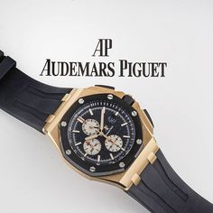 ⌚Regal Royal Oak Offshore⌚ #AudemarsPiguet #RoyalOakOffshore ref. #26401RO.OO.A002CA.01 in 18k rose #gold and black #ceramic. In #unworn condition, complete with box and papers dated September 2015.