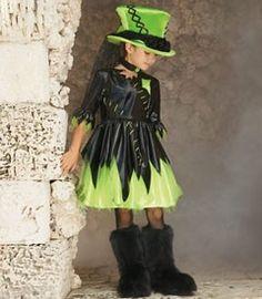 Frankenstein's monster girl's costume inspiration