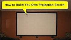 We've featured DIY projector screens before, but as far as DIY projects go they can still get a bit pricey. If you're got a nice, flat wall, you can use this method to create a great screen on the cheap. Make Your Own Enormous Projector Screen Out of Wood and Spandex Make Your Own Enormous Projector Screen Out of Wood and Spandex Make Your Own Enormous Projector Screen Out of Woo I recently wrote about how you can put a movie theater in your home on the cheap and noted that the … Read more