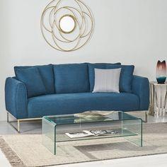 "Wrought Studio Auckland 82.75"" Round Arms Sofa & Reviews | Wayfair Modern Sofa, All Modern, Modern Brands, Sofa Material, Clean Space, Three Seater Sofa, Sofa Upholstery, Sofa Sale, Love Seat"