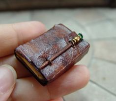 EV Miniatures: books, lots of other pictures of some quite gorgeously designed mini books on this blog