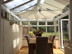 ShadePlus Conservatory Shade Sail Gallery
