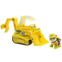 Paw Patrol Jungle Rescue - Rubble's Jungle Bulldozer: Rubble is on the case with his incredible Jungle Bulldozer! This pup and vehicle…