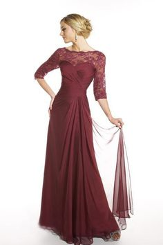 Floor Length Chiffon  2012 Collection Mother Of The Bride Dresses Under 200