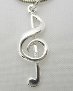 A treble clef music note for music lovers!