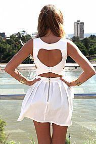 HEART CUT OUT DRESS $68 #xenia #xeniaboutique #fashion #dresses
