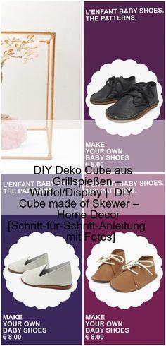 DIY Deko Cube aus Grillspießen – Würfel/Display | DIY Cube made of Skewer – Home Decor ...,DIY Deko Cube aus Grillspießen und wie fantastisch Grundschulkinder sein können,  #Aus #Cube #Deko #DIY #fantastisch #Grillspießen #Grundschulkinder #können #sein #und #wie Make Your Own, Make It Yourself, How To Make, Skewers, Cube, Baby Shoes, Blog, Pattern, Home Decor