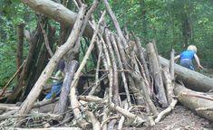 Building huts