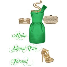 Alpha Sigma Tau Formal, created by all-sororities on Polyvore