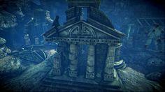 Underwater Ruins   Underwater ruins