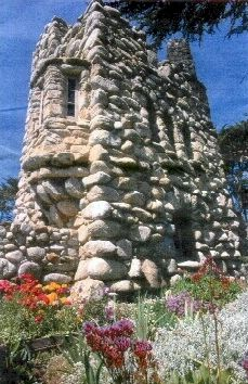 Hawk Tower, Tor House in Carmel, Ca - Robinson & Una Jeffers are still here in spirit and paranormal activity is reported almost daily here by visitors and staff.