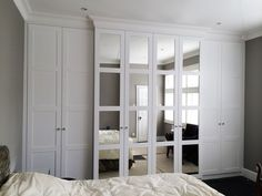Bespoke fitted wardrobes in London. Affordable prices on all bespoke fitted bedroom furniture including fitted wardrobes at London Bespoke Interiors. Bedroom Built In Wardrobe, Fitted Bedroom Furniture, Closet Built Ins, Fitted Bedrooms, Tv In Bedroom, Wardrobe Doors, Closet Bedroom, Furniture Nyc, Cheap Furniture