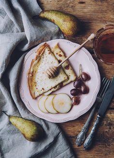 блины, завтрак