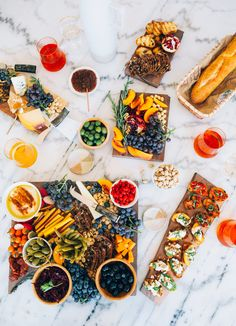 Having friends over doesn't mean you need to get out the junk. You can all eat clean with this awesome Charcuterie and your friends will thank you for it!  AHouseintheHills.com