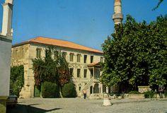 GREECE KOS HADJI HASSAN PASHA  MOSQUE & HIPPOCRATE'S PLANE-TREE 1967