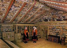 Louder and Funnier: 'Rose Painting' Amazing Norwegian folk art