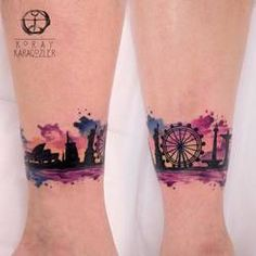 Watercolor Abstract Tattoo by koraykaragozler on DeviantArt Arm Band Tattoo For Women, Colour Tattoo For Women, Color Tattoo, Girl Tattoos, Tattoos For Guys, Tattoos For Women, Forearm Tattoo Design, Cover Up Tattoos, Piercing Tattoo