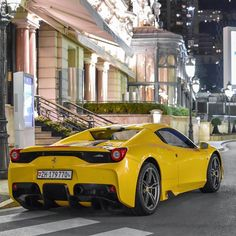 #Casino Beautiful specs for this Speciale Aperta! #ferrari #specialeaperta #ferrari458 #monaco #montecarlo #supercarsdaily700 #carinstagram #supercar #instacar #carporn #picoftheday #photooftheday #night #instagood #instadaily #amazingcars247 #car #carspotting #luxurylife #love #beautiful #luxury #lifestyle #yellow #supercars #carswithoutlimits #followme #cargramm #carsofinstagram #exoticcar by wheelson.official from #Montecarlo #Monaco