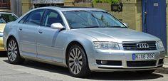 Audi A8 D3 pre-facelift – 2002