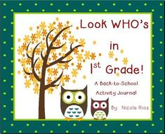 This Back-To-School journal will provide you with important information about your new students. Includes Kindergarten ELA and math skills review, a fun writing topic for the first ten days of school, and Assessment Analysis and Instructional Planning pages. This journal is also available for 2nd and 3rd grade. $