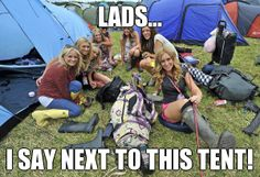 Glastonbury 2015 - A Group of Sexy Girls Chillin on The Grass Glastonbury 2013, Wellington Boot, Camper Van, Baby Strollers, Take That, Glamour, Sayings, Memes, Children