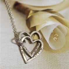 Interlinking Heart Necklace