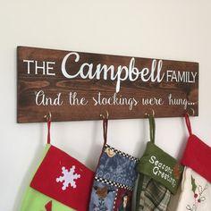 Christmas Stocking Holders Christmas Stockings by NicoleSews