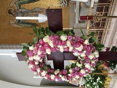 Wreath for Holy Thursday procession - St Pauls Greek Orthodox Church, Irvine 2016