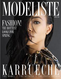 Photos: Karrueche Tran poses nude for Modeliste magazine Fashion Magazine Cover, Magazine Covers, Award Winning Photography, Karrueche Tran, Sassy Hair, E Magazine, Social Media Influencer, Woman Crush, Beauty Trends