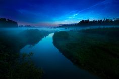 Mist and Noctilucent Clouds