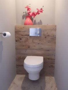 Is your home in need of a bathroom remodel? Here are Amazing Small Bathroom Remodel Design, Ideas And Tips To Make a Better. Guest Toilet, Small Toilet, Downstairs Toilet, Bathroom Closet, Bathroom Toilets, Small Bathroom, Wooden Bathroom, Bathroom Inspiration, Home Decor Inspiration