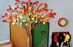 Risultati immagini per alberi autunnali di stoffa